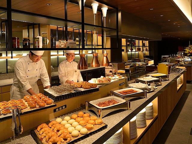 京都東急ホテル 朝食会場
