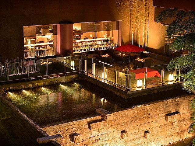 京都東急ホテル テラス夜景