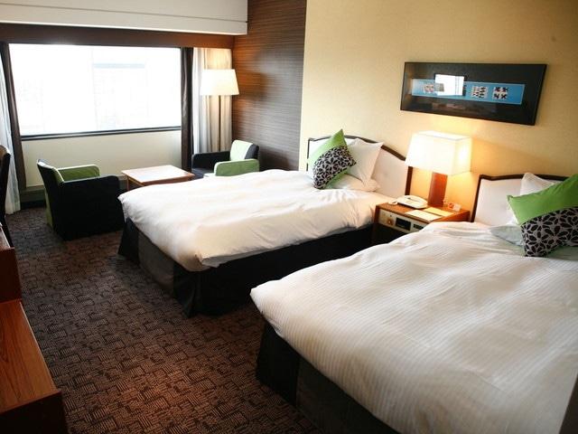 神戸ポートピアホテル 本館スタンダードツイン 27.4㎡(一例)