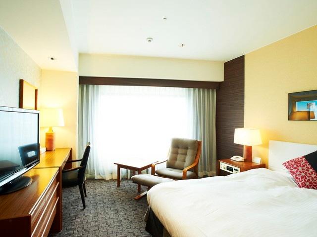 神戸ポートピアホテル 本館スタンダードシングル・セミダブル 22.4㎡(一例)