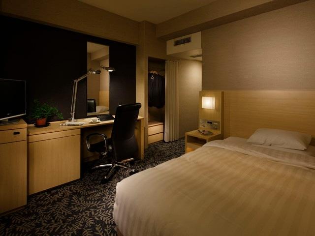 リーガロイヤルホテル シングル・セミダブル 17.2㎡(一例)