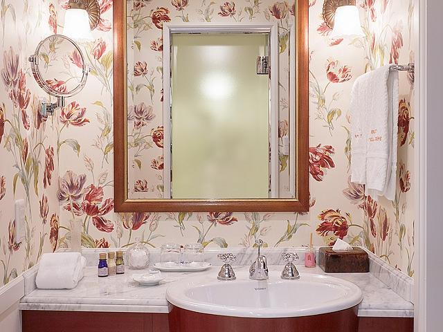 ホテルヨーロッパ デザイナーズルーム 洗面所