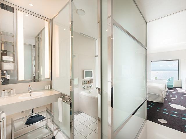 【舞浜】ヒルトン東京ベイ セレブリオ セレクト 浴室・洗面