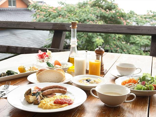 レゾネイトクラブくじゅう 朝食イメージ