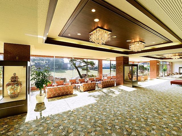 阿蘇内牧温泉 阿蘇プラザホテル ロビー