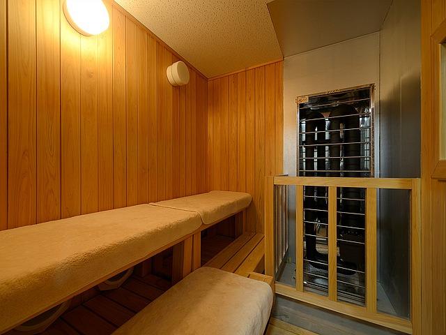 奄美サンプラザホテル ドライサウナ室