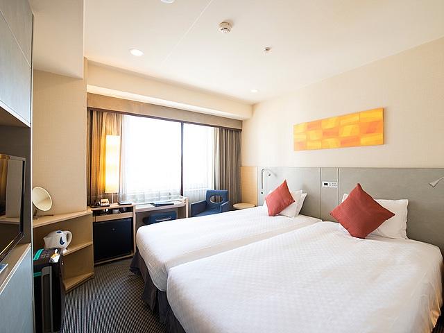 ホテルJALシティ関内横浜 モデレートツイン(ハリウッド)