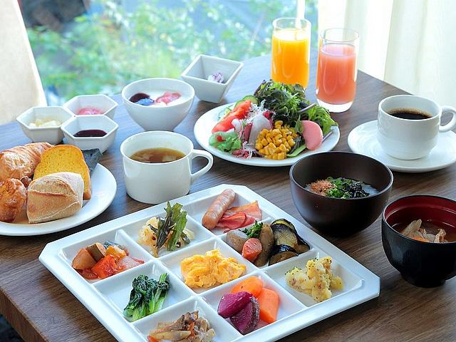 ホテルグレイスリー銀座 朝食一例