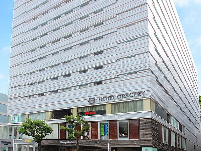【銀座】ホテルグレイスリー銀座 外観