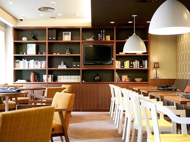 【田町】ホテルグレイスリー田町 宿泊者専用ラウンジ