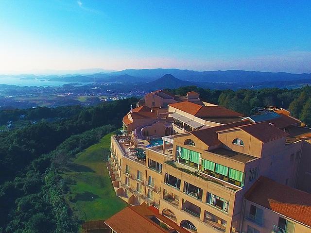 弓張の丘ホテル 外観
