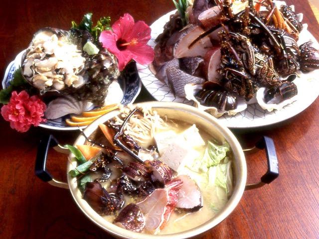 民宿 金見荘 食事「漁なぐさみ」