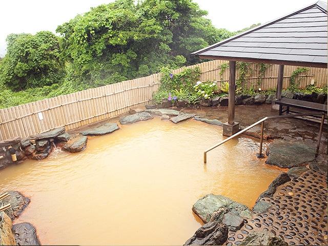 五島コンカナ王国 露天風呂