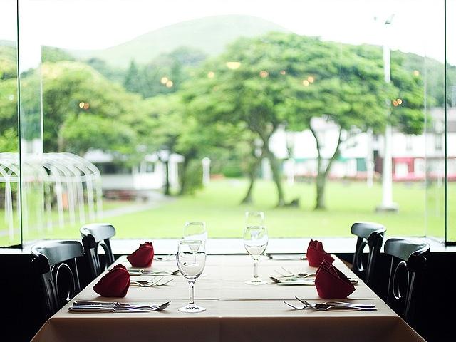 五島コンカナ王国 レストラン カウベル