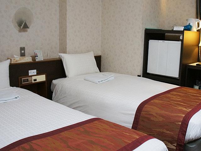 【堀留】ホテル堀留ヴィラ ツイン