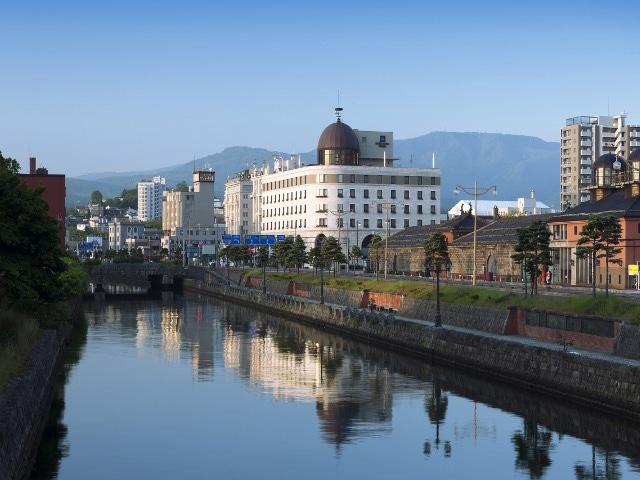 ホテルノルド小樽 運河とノルド