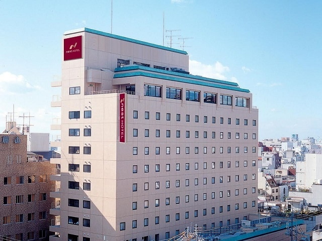 ネストホテル松山 ホテル外観