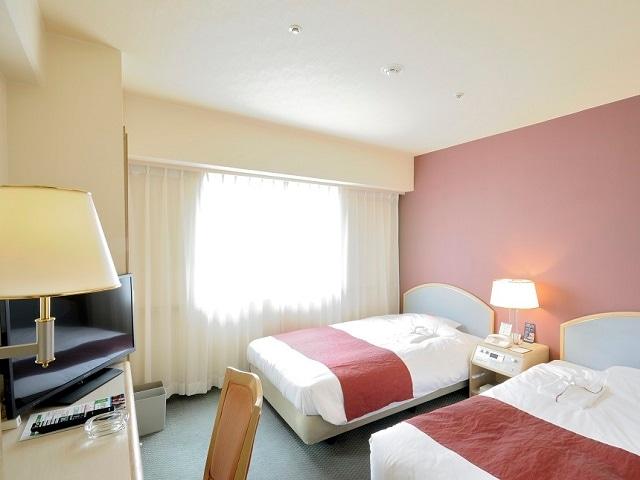 ネストホテル松山 ツインルーム 17.9㎡