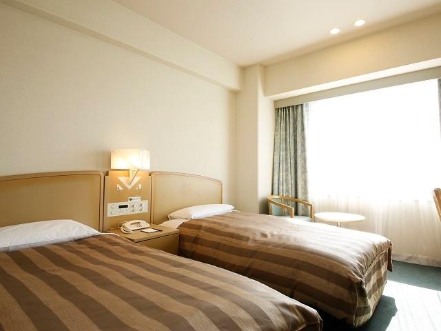 徳島グランヴィリオホテル ツインルーム 17.4㎡~