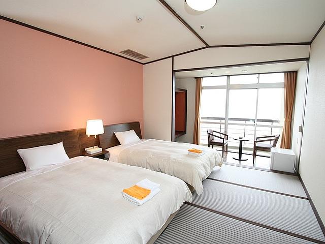 長崎にっしょうかん ツインルーム 23㎡~