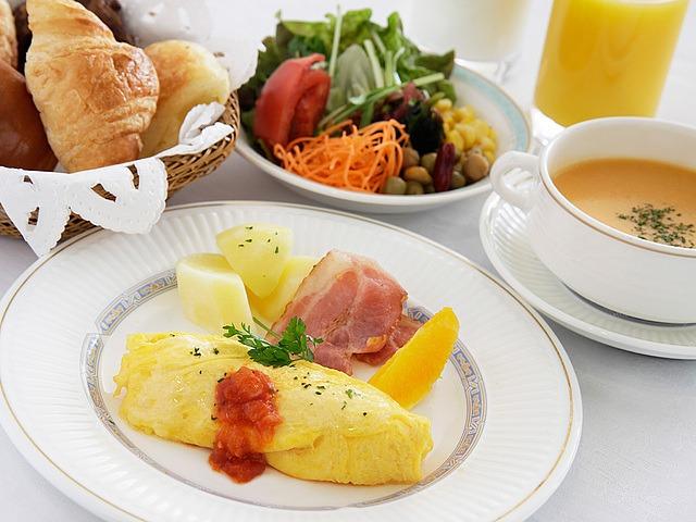 三井ガーデンホテル千葉 パスチオーナ朝食(洋食イメージ)