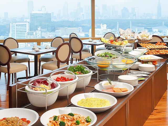 【渋谷】渋谷エクセルホテル東急 レストラン「ア ビエント」、朝食、洋食ビュッフェイメージ