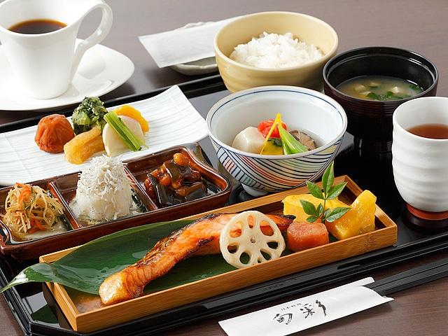 【渋谷】渋谷エクセルホテル東急 日本料理「旬彩」和朝食イメージ