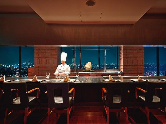 【新横浜】新横浜プリンスホテル レストラン、トップオブヨコハマ 鉄板焼&ダイニング