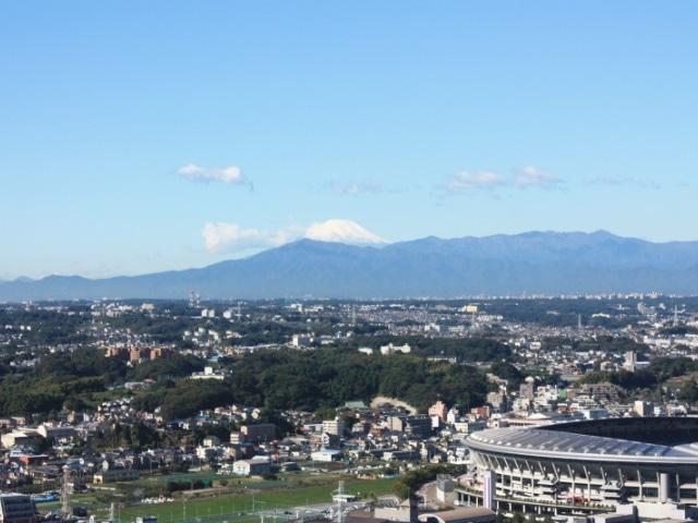 【新横浜】新横浜プリンスホテル 眺望(富士山)