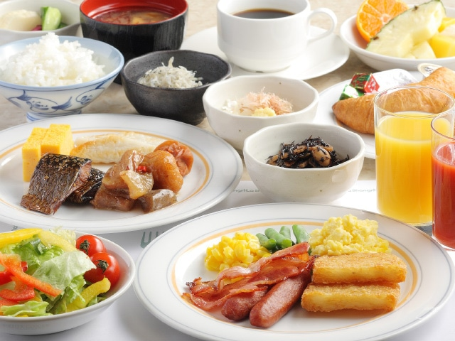 【新橋】新橋愛宕山東急REIホテル 朝食イメージ