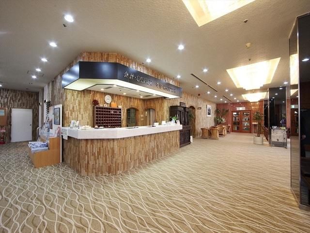 小豆島温泉 オーキドホテル フロント