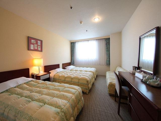 小豆島温泉 オーキドホテル トリプルルーム 23㎡