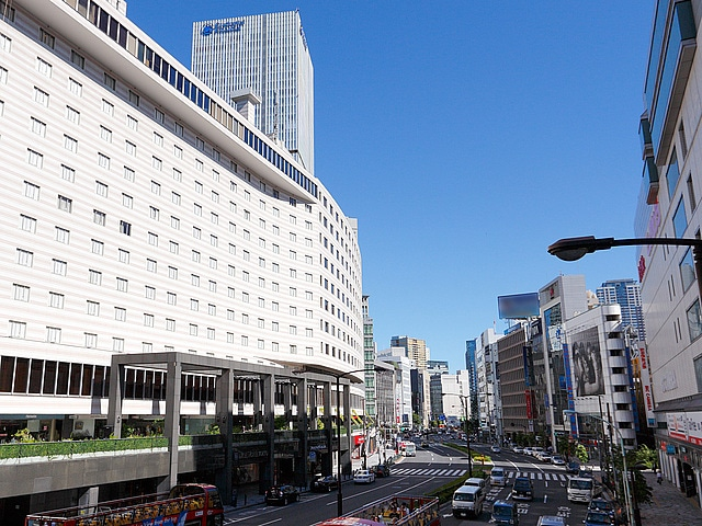 【赤坂】赤坂エクセルホテル東急 外観