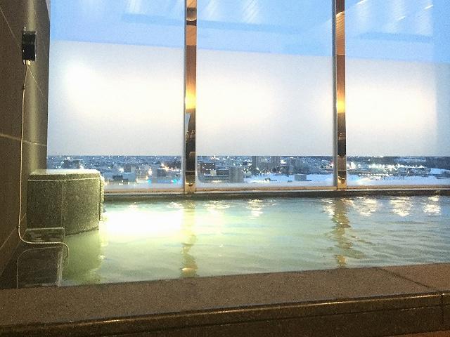 ホテルルートイングランド旭川駅前 天人峡天然温泉大浴場 旅人の湯