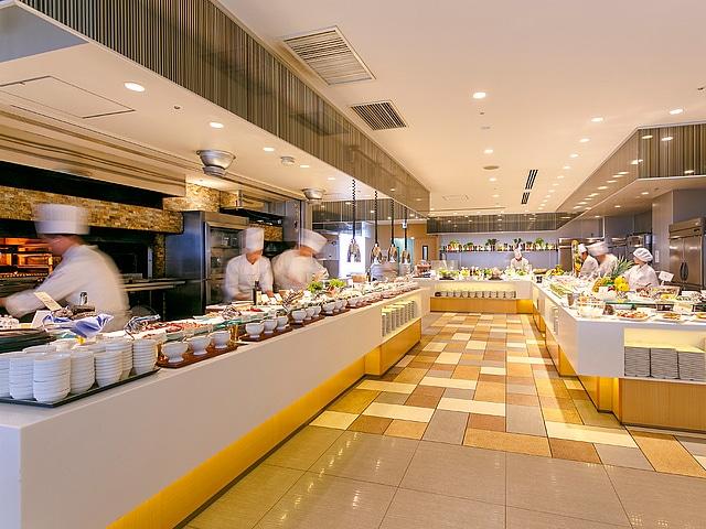 【浅草】浅草ビューホテル スカイグリルブッフェ 武藏