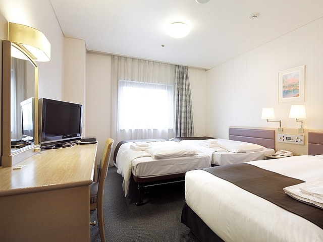 【大森】大森東急REIホテル ツインB(トリプル)