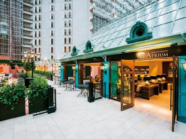 【舞浜】東京ベイ舞浜ホテル クラブリゾート レストラン、ダイニングスクエア「ジ・アトリウム」