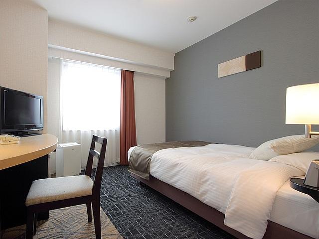 札幌東急REIホテル スタンダードシングル(1名1室・セミダブル利用)