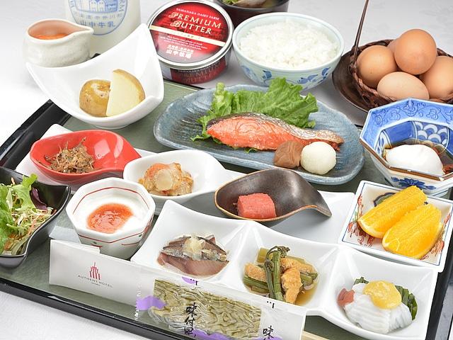 オーセントホテル小樽 朝食イメージ