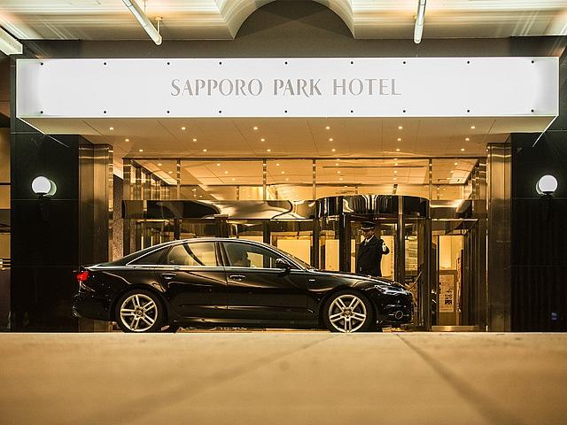 札幌パークホテル 外観