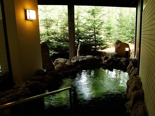 サホロリゾートホテル 露天風呂
