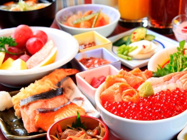 ネストホテル札幌大通 【朝食】バイキング