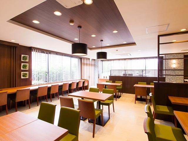 セントラルホテル武雄温泉駅前 レストラン「ほとめきclover」
