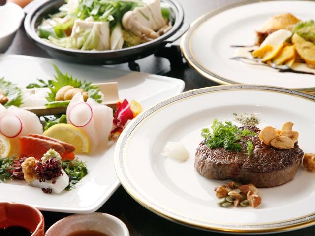 ホテル甘露の森 夕食 和洋ハーフブッフェ(セット)