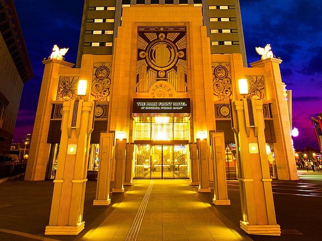 ザ パークフロントホテル アットユニバーサル・スタジオ・ジャパンR 外観