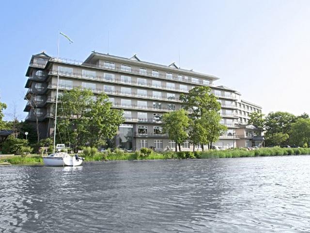ホテル網走湖荘 外観