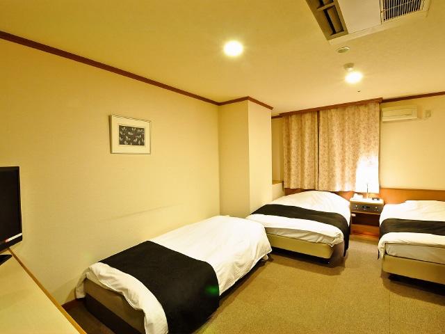 アパホテル札幌すすきの駅西 3名1室
