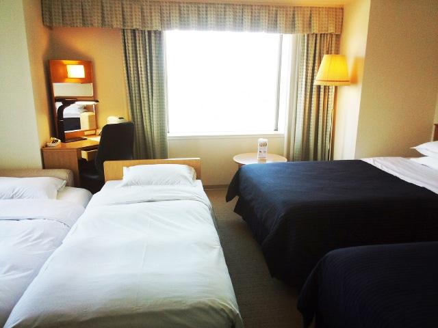 ホテルエミシア札幌 4名1室一例
