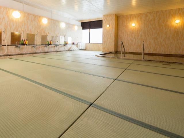 旭川パークホテル 畳敷きのお風呂「山の和風呂」