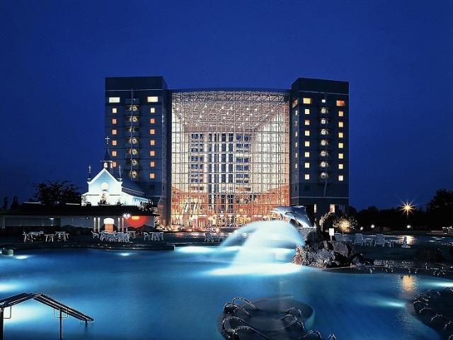 シャトレーゼ ガトーキングダム サッポロホテル&スパ 外観